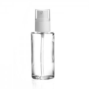 COMO 50 ml | Glass bottle 50 ml with Cream pump